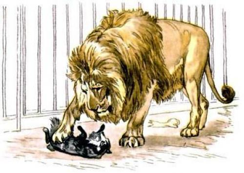 Притча про льва и собаку. Притча от Льва Толстого