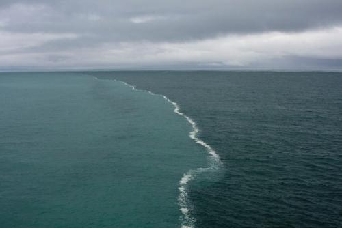 Слияние двух океанов википедия. Уникальное место, где два океана встречаются, но никогда не пересекаются! Потрясающе!