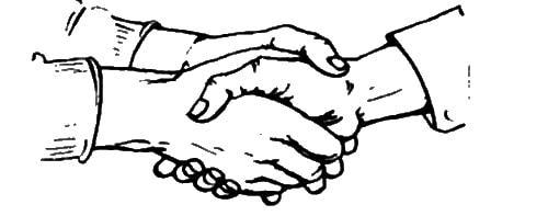 Рукопожатия виды и значения. Прочие виды рукопожатий