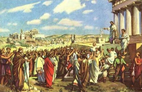 Риторика в древнее время