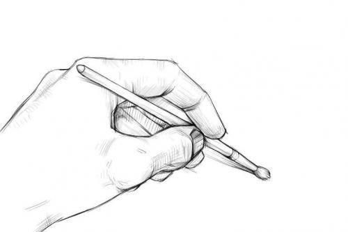 Скрещенные руки рисунок. Как рисовать кисти рук