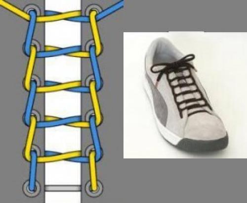 Как красиво завязать шнурки на кроссовках: способы для продвинутых