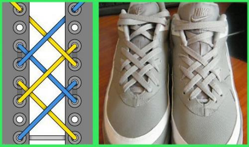 Как по-модному завязать шнурки?