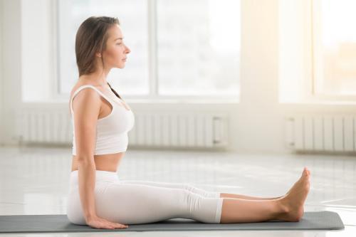 Поза посоха дандасана в йоге: выполнение и польза