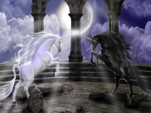 Мифический герой единорог. Единороги — волшебные существа в мифах народов