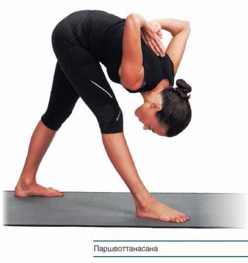 Паршвоттанасана техника выполнения. Паршвоттанасана. Для снятия мышечного напряжения.