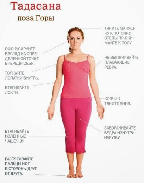 Йога асана стоя. Йога стоя - ваш первый шаг к освоению йоги.