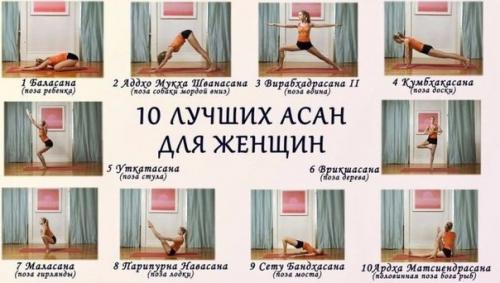 Асаны для женского здоровья. 10 лучших асан для женщин.